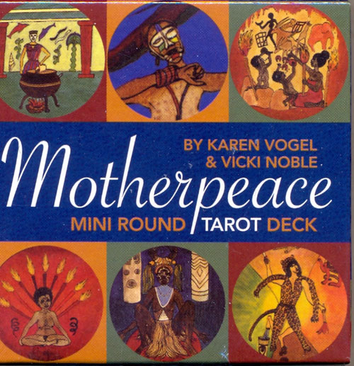Motherpeace Mini Round Tarot Deck