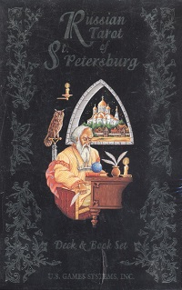 Russian Tarot of St.Petersburg(deck + book)