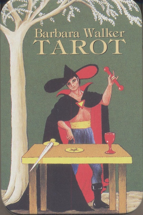 Barbara Walker Tarot in Tin