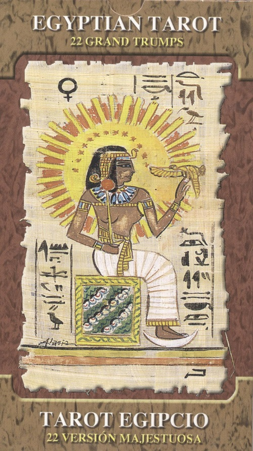 Egyptian Tarot, Grand Trumps
